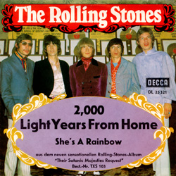 The Rolling Stones : 2000 Light Years From Home - Germany 1968