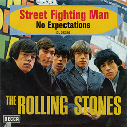 The Rolling Stones : Street Fighting Man - Germany / UK 1968
