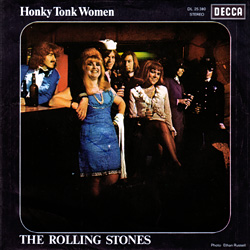 The Rolling Stones : Honky Tonk Women - Germany 1969