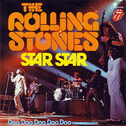 """The Rolling Stones - Star Star - RSR RS 19108 Germany 7"""" PS"""