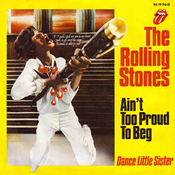 The Rolling Stones : Ain't Too Proud To Beg - Germany 1974