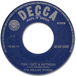 The Rolling Stones : Can I Get A Witness - Greece 1966