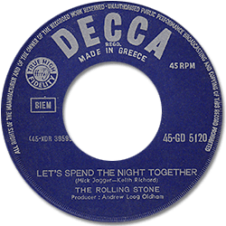 The Rolling Stones : Let's Spend The Night Together - Greece 1967