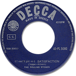 The Rolling Stones : Satisfaction - Greece 1965