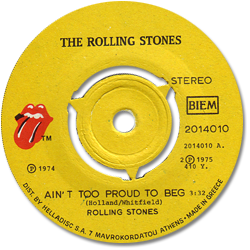 The Rolling Stones : Ain't Too Proud To Beg - Greece 1975