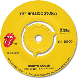 The Rolling Stones : Brown Sugar - Greece 1971