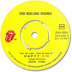 The Rolling Stones : Happy - Greece 1972