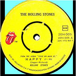 The Rolling Stones : Happy - Greece 1972