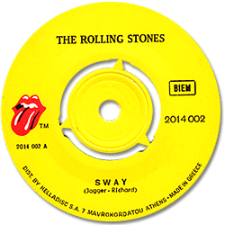 The Rolling Stones : Sway - Greece 1972