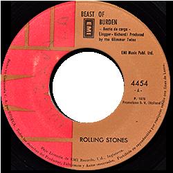 The Rolling Stones : Beast Of Burden - Guatemala 1978