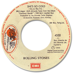 The Rolling Stones : She's So Cold - Guatemala 1981