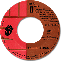 The Rolling Stones : She's So Cold - Guatemala 1980
