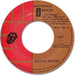 The Rolling Stones : Emotional Rescue - Guatemala 1980