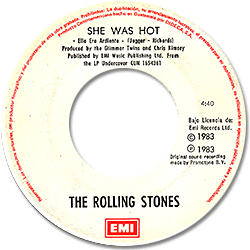 The Rolling Stones : She Was Hot - Guatemala 1984