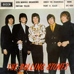 The Rolling Stones : The Second Rolling Stones EP - Hong Kong 1967