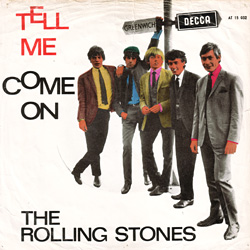 The Rolling Stones : Tell Me - Holland / UK 1964