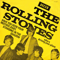 The Rolling Stones : Have You Seen Your Mother, Baby, Standing In The Shadow ? - Holland 1966