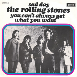 The Rolling Stones : Sad Day - Holland 1973