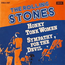 The Rolling Stones : Honky Tonk Women - Holland 1976