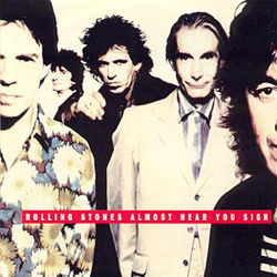 The Rolling Stones : Almost Hear You Sigh - Holland 1990