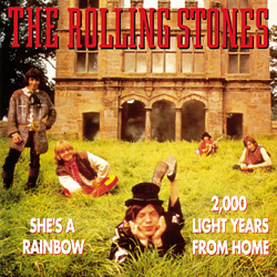 The Rolling Stones : She's A Rainbow - Holland 1990