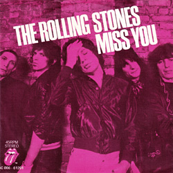 The Rolling Stones : Miss You - Holland 1978