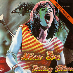 The Rolling Stones : Miss You - Hungary 1978