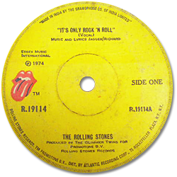 The Rolling Stones : It's Only Rock'n'Roll - India 1974
