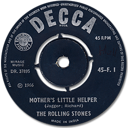The Rolling Stones : Mother's Little Helper - India 1966