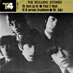 The Rolling Stones : As Tears Go By - Iran 1966