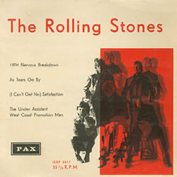 The Rolling Stones : As Tears Go By - Israel 1966