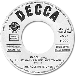 The Rolling Stones : Il Disco Poker - Italy 1964