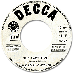 The Rolling Stones : The Last Time - Italy 1965