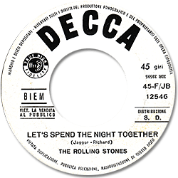 The Rolling Stones : Let's Spend The Night Together - Italy 1967