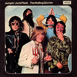 The Rolling Stones : Jumpin' Jack Flash - Italy 1968
