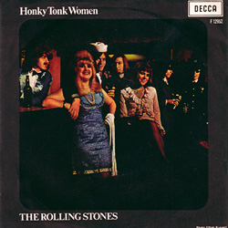 The Rolling Stones : Honky Tonk Women - Italy 1969