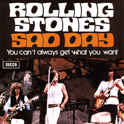 The Rolling Stones : Sad Day - Italy 1973