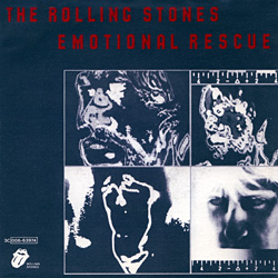 The Rolling Stones : Emotional Rescue - Italy 1980