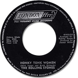 The Rolling Stones : Honky Tonk Women - Jamaica 1969