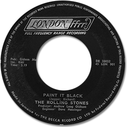 The Rolling Stones : Paint It, Black - Jamaica 1966
