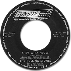 The Rolling Stones : She's A Rainbow - Jamaica 1967