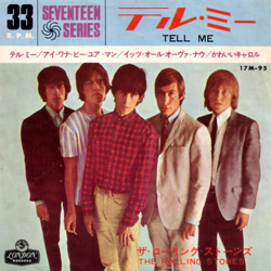 The Rolling Stones : Tell Me - Japan 1965