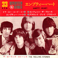 The Rolling Stones : Empty Heart - Japan 1965