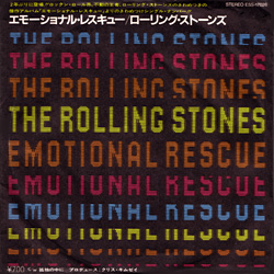 The Rolling Stones : Emotional Rescue - Japan 1980