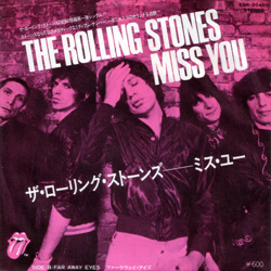 The Rolling Stones : Miss You - Japan 1978