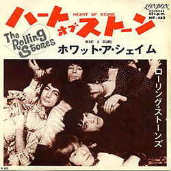 The Rolling Stones : Heart Of Stone - Japan 1968