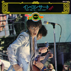 The Rolling Stones : Get Yer Ya-Ya's Out - Japan 1973