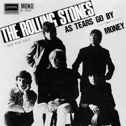 The Rolling Stones : As Tears Go By (Con Le Mie Lacrime) - Japan 1982