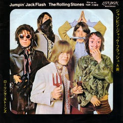 The Rolling Stones : Jumpin' Jack Flash - Japan 1968
