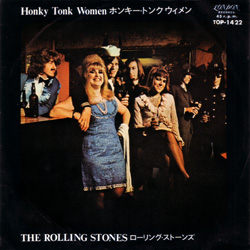 The Rolling Stones : Honky Tonk Women - Japan 1969